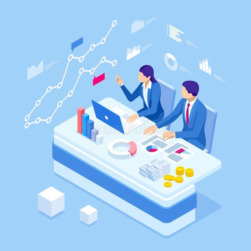 等量商人谈的会议候选会议地点 团队工作过程 业务管理配合会议和 库存例证