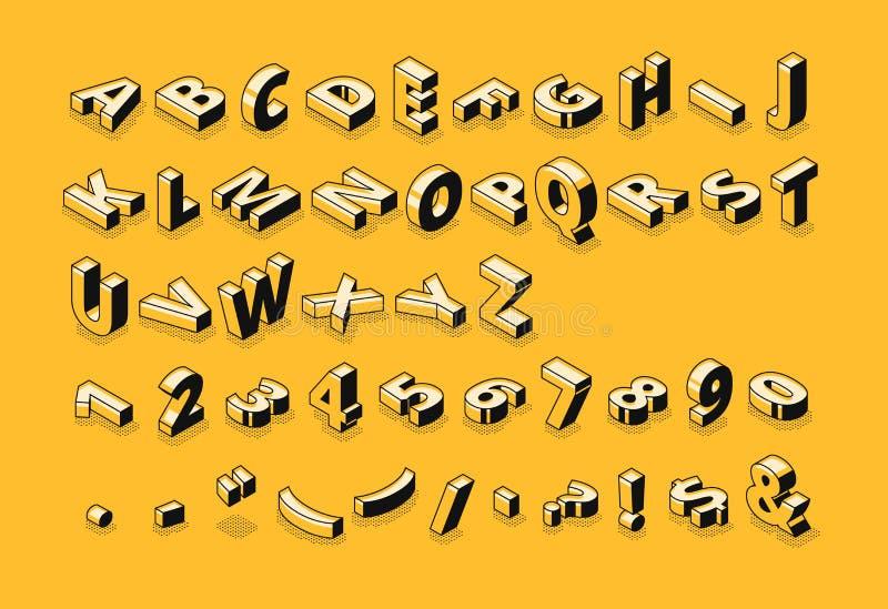 等量字体在半音传染媒介例证上写字 向量例证