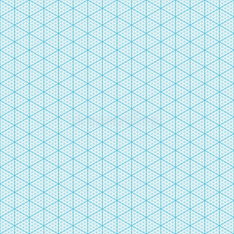 等量座标图纸 库存例证