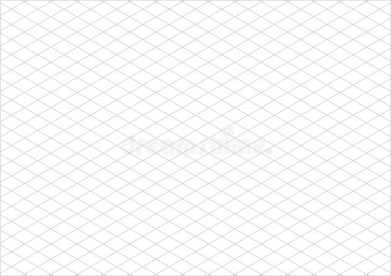 等量栅格纸a4风景传染媒介 皇族释放例证