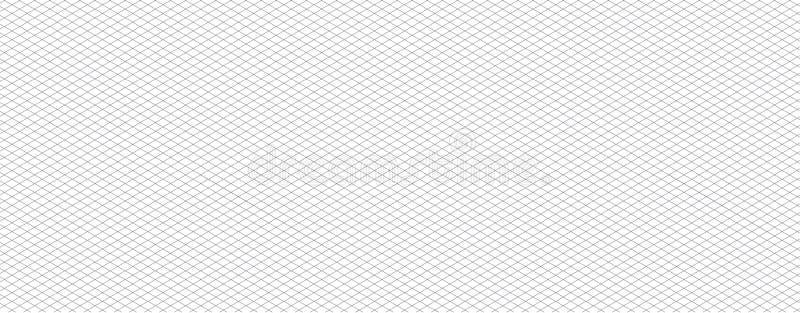 等量网格线纸等量栅格加点传染媒介 向量例证