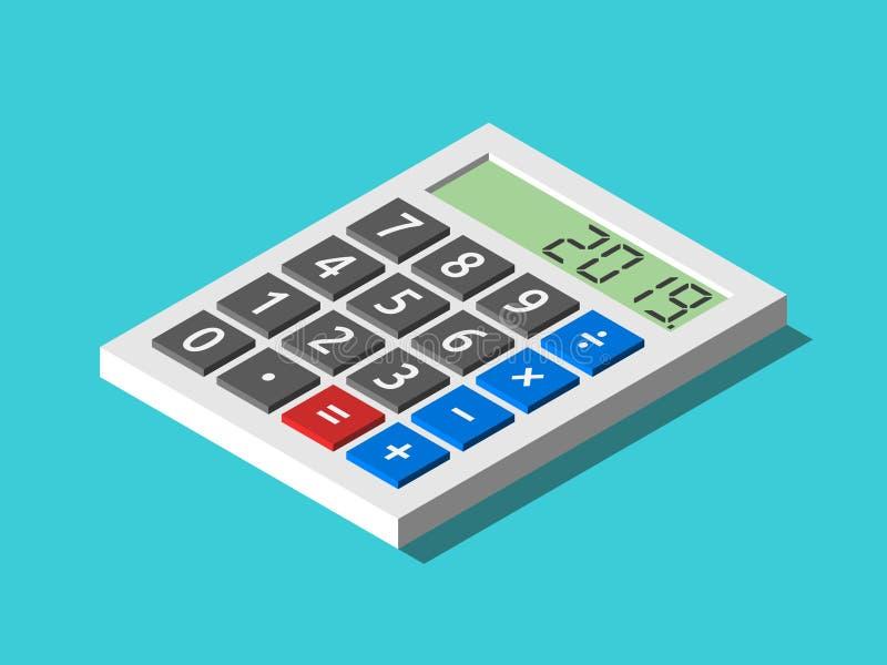 等量计算器,2019年 皇族释放例证