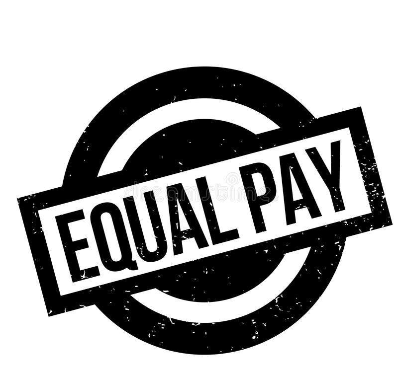 等额支付不加考虑表赞同的人 向量例证
