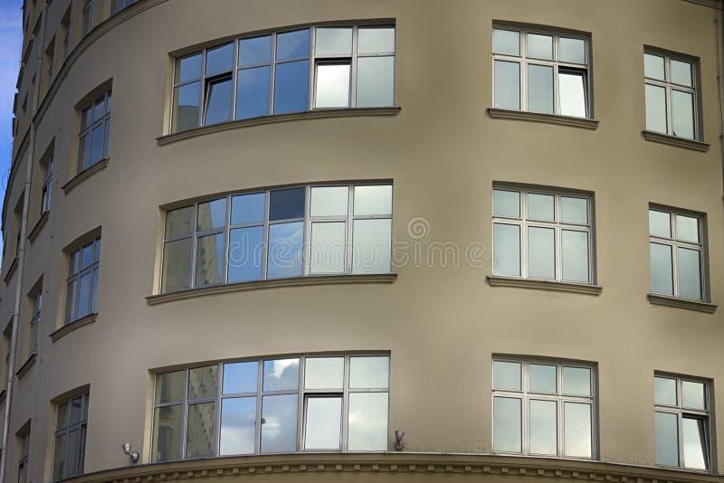 建筑学在贝尔格莱德,塞尔维亚 免版税库存照片