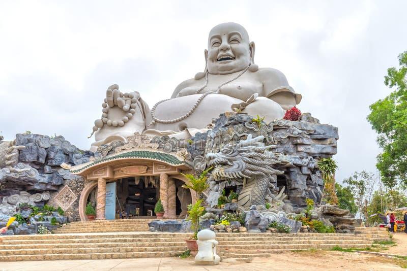 建筑学最大的Maitreya菩萨东南亚 图库摄影
