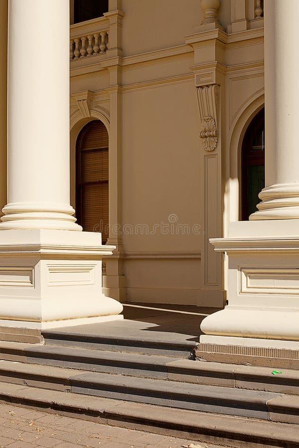 建筑学朗塞斯顿塔斯马尼亚岛 免版税库存照片