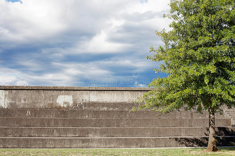 建筑学朗塞斯顿塔斯马尼亚岛 免版税库存图片