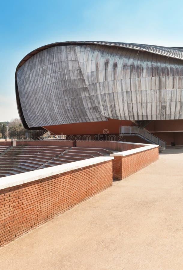 建筑学,观众席 免版税库存照片