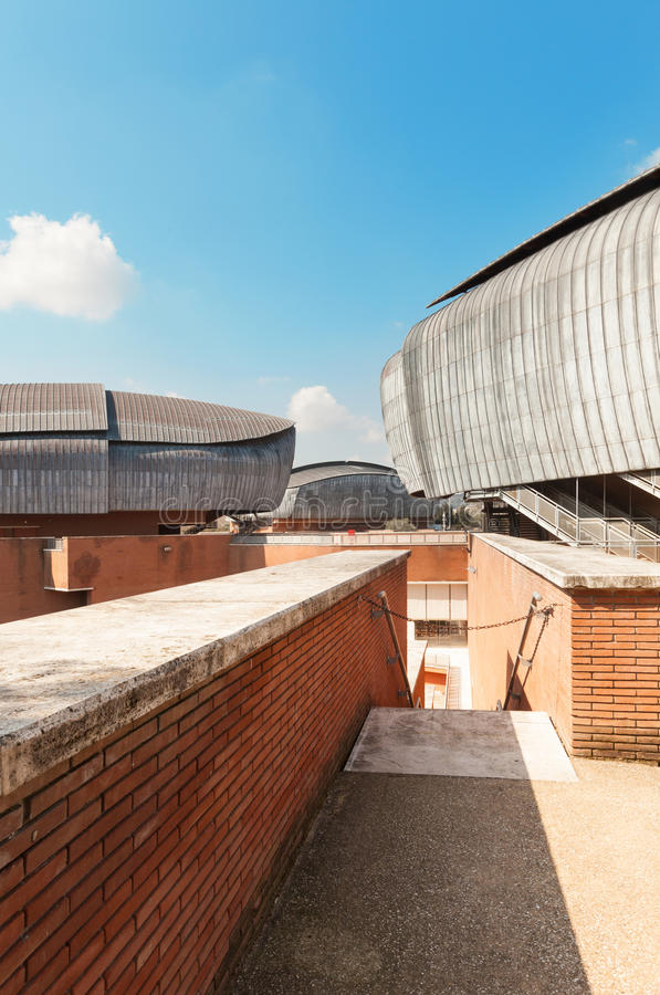 建筑学,观众席 免版税库存图片