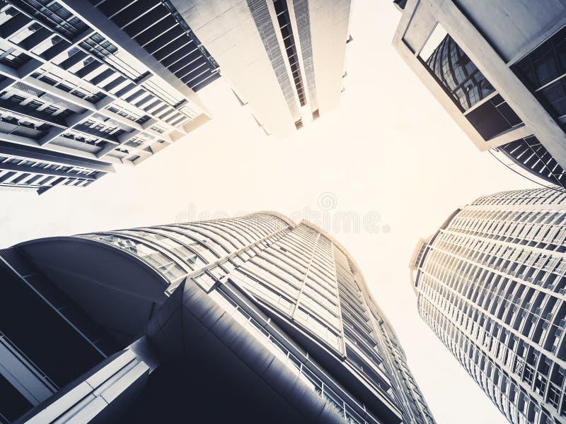建筑学细节现代外部大厦摩天大楼 库存图片