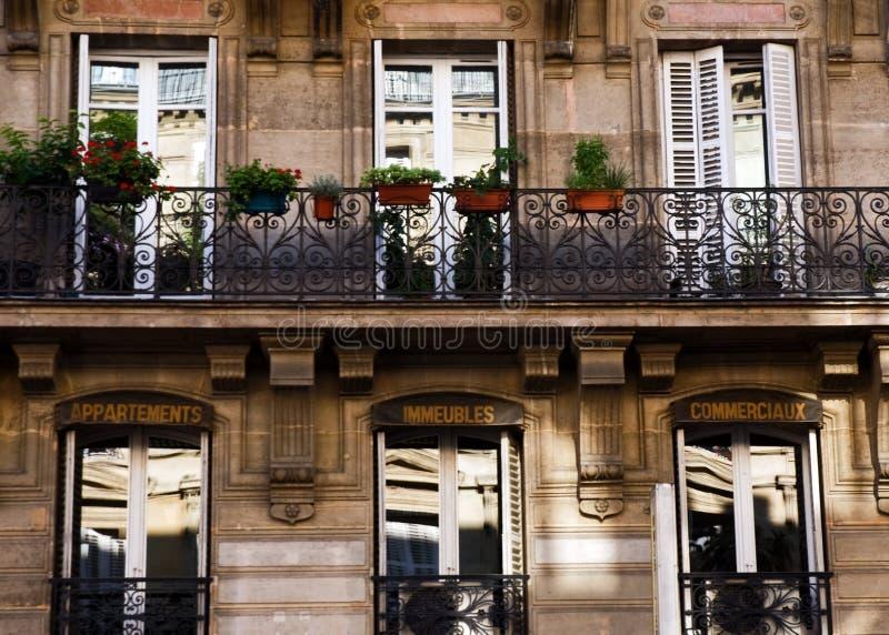 建筑学巴黎 免版税库存图片