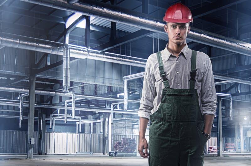 建筑工人 图库摄影