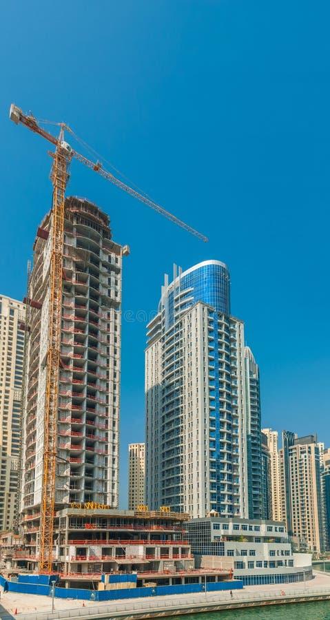 建筑迪拜站点 图库摄影