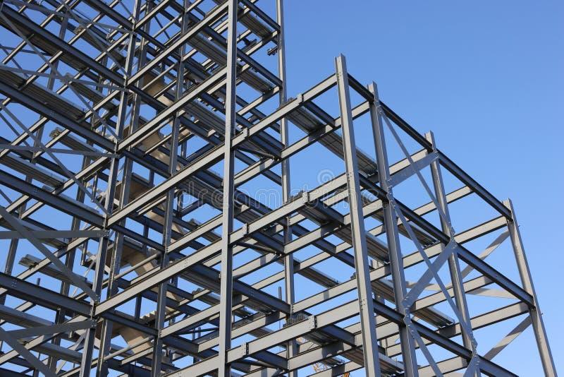 建筑钢框架 免版税库存照片