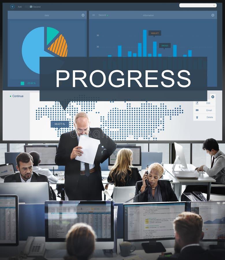 组织策略市场研究概念 免版税库存照片