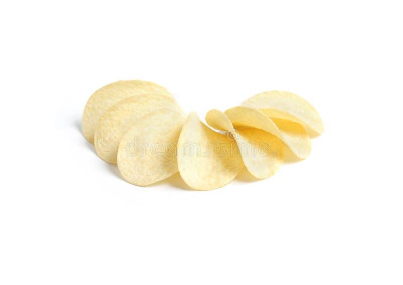 筹码土豆微笑 免版税库存照片