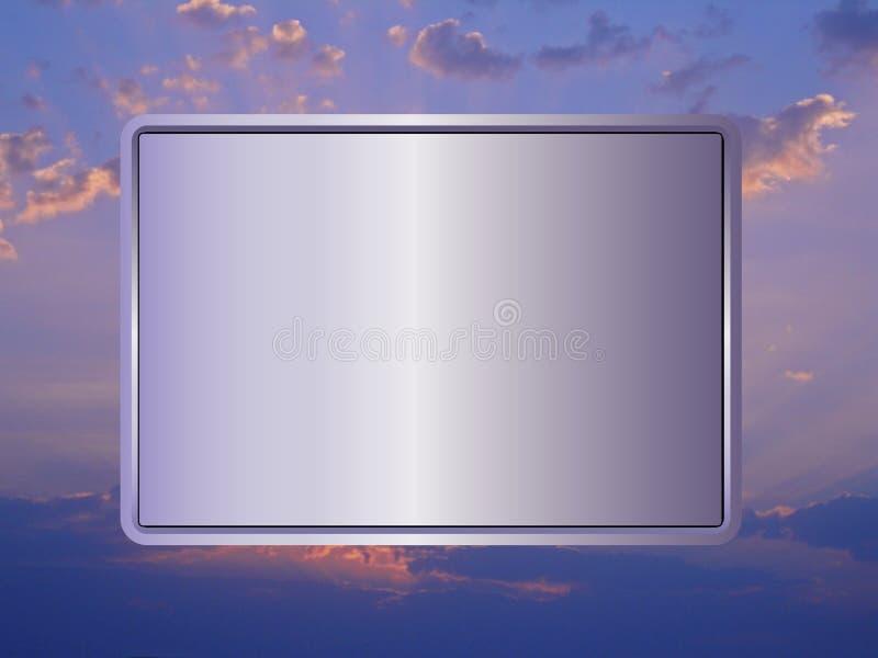 签到天空2 库存照片