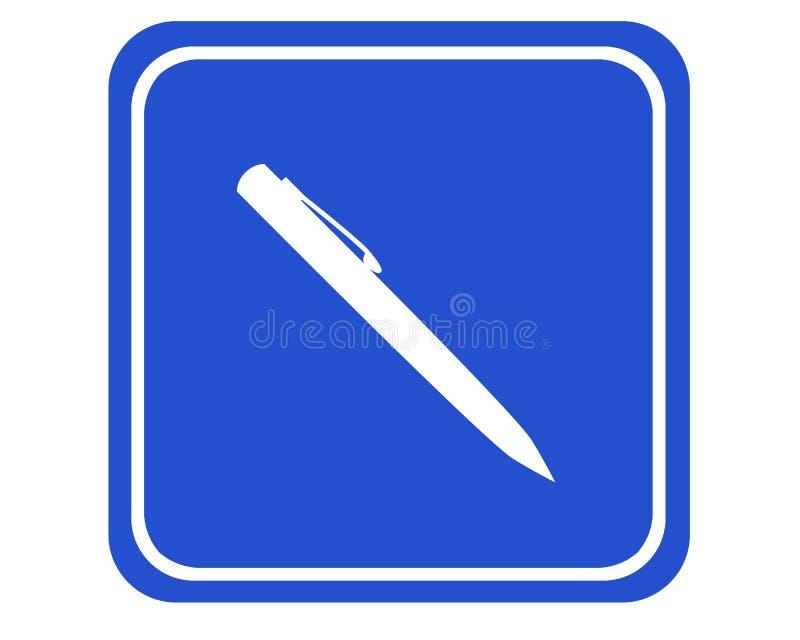 签名 库存例证