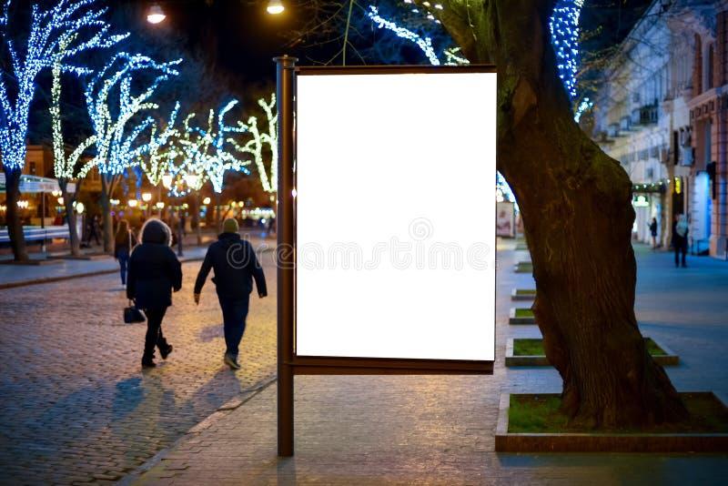 签字与您的正文消息或内容的, advertisi拷贝空间 库存照片