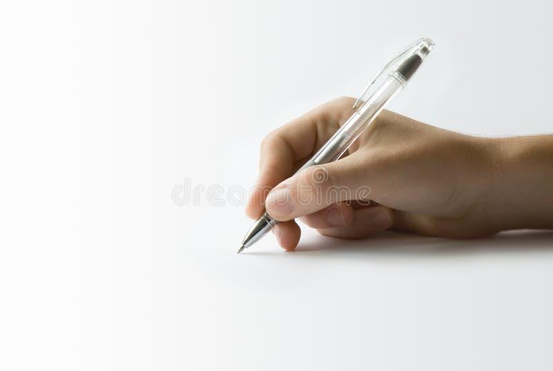 签字 免版税库存图片