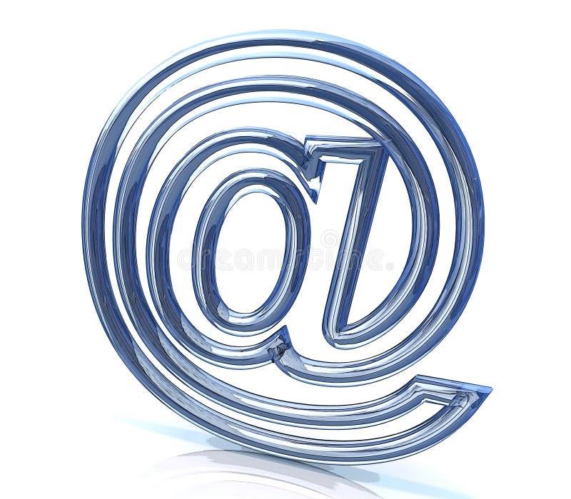 签署互联网 库存例证