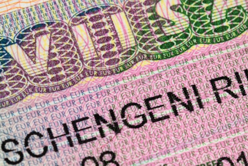 签证 免版税库存图片