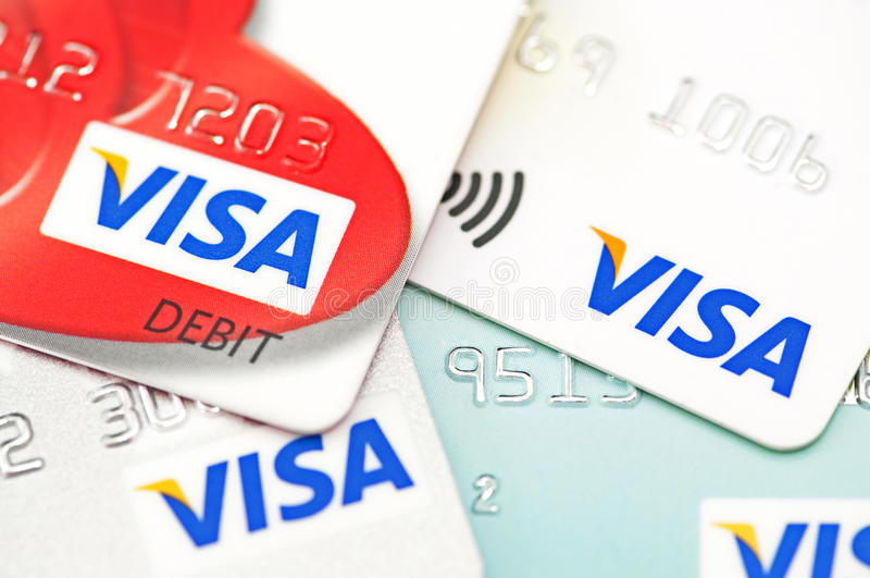 签证 免版税库存照片