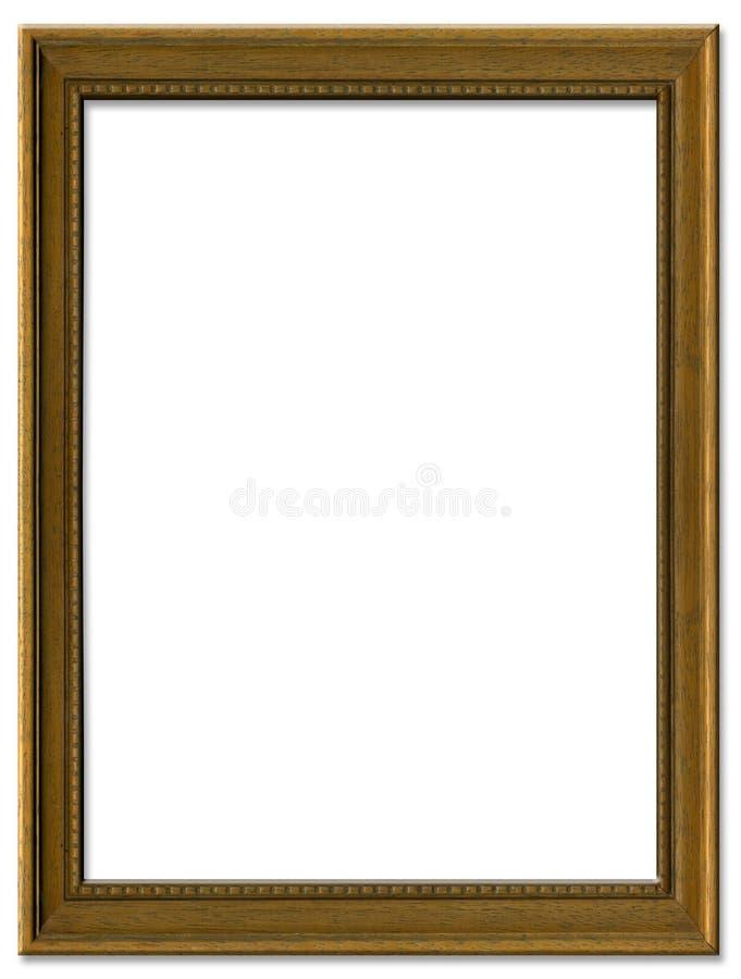简单棕色框架的照片 库存照片