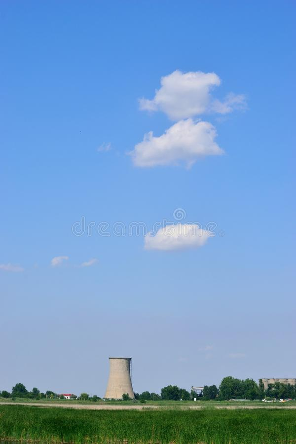 简单的云彩 免版税图库摄影