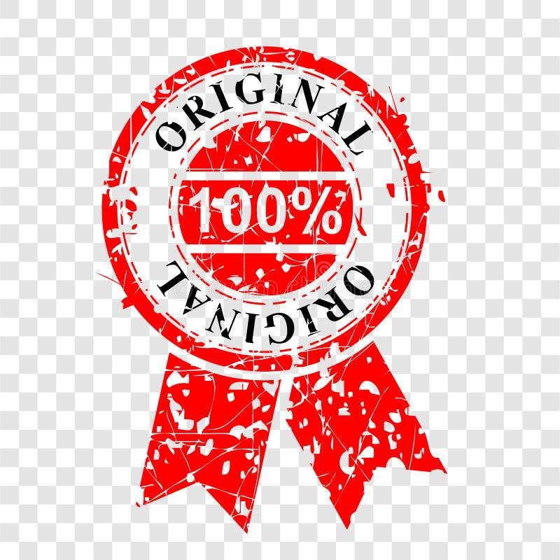 简单的传染媒介,圈子条纹红色不加考虑表赞同的人,100%原始,在透明作用背景 向量例证