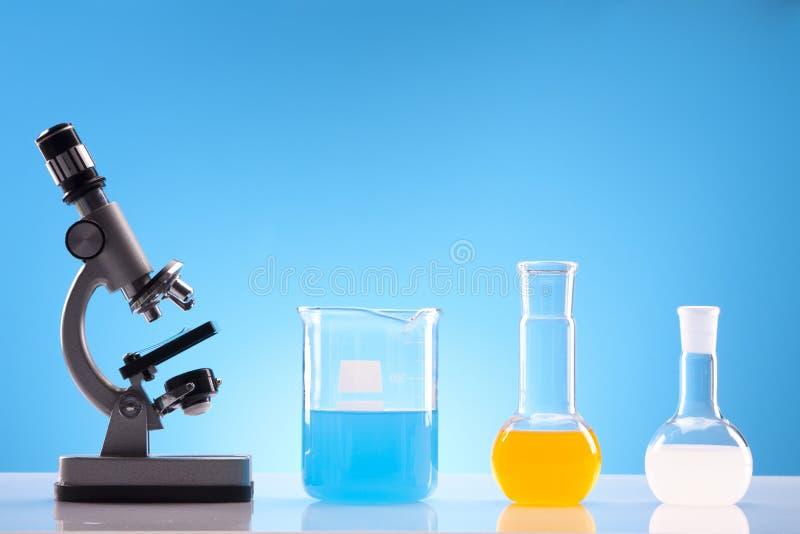 简单的化学 库存照片
