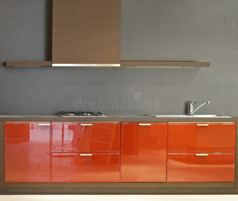 简单的厨房 库存照片