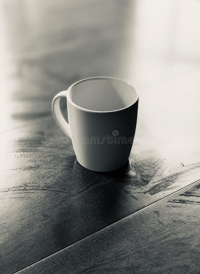 简单的咖啡杯 免版税库存照片
