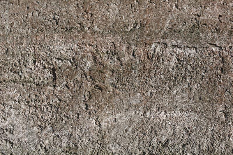 简单的墙壁褐色石头纹理背景 免版税库存图片