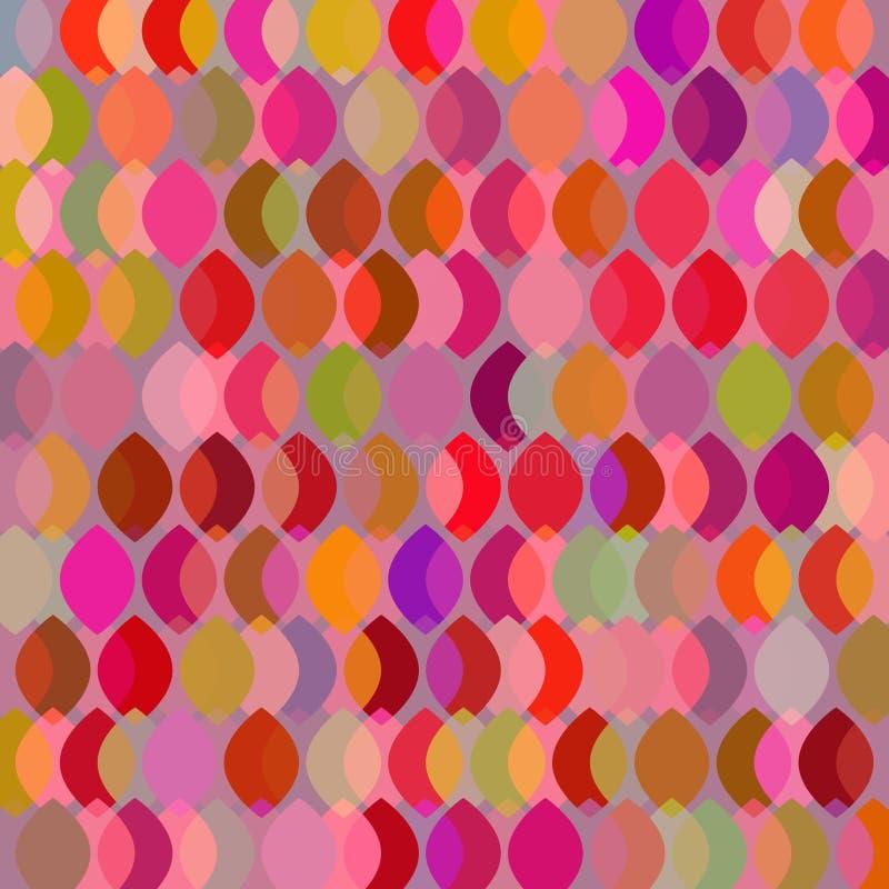 简单的抽象几何backgrund设计 五颜六色的背景 向量例证
