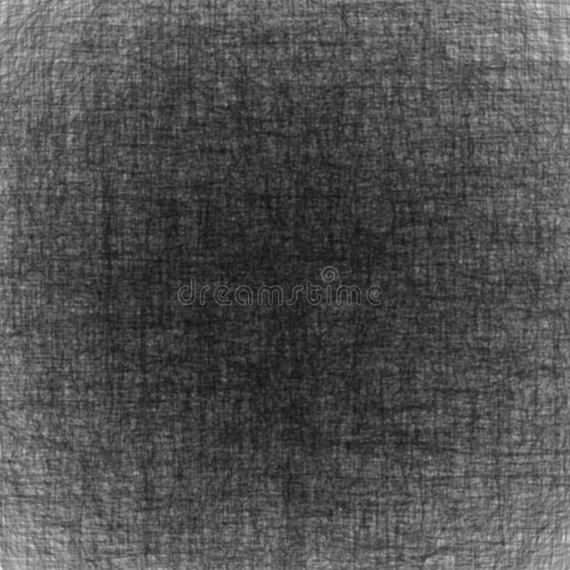 简单的抽象背景传染媒介纹理 灰色表面上的混乱线 皇族释放例证