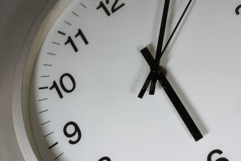 简单的时钟图象 图库摄影