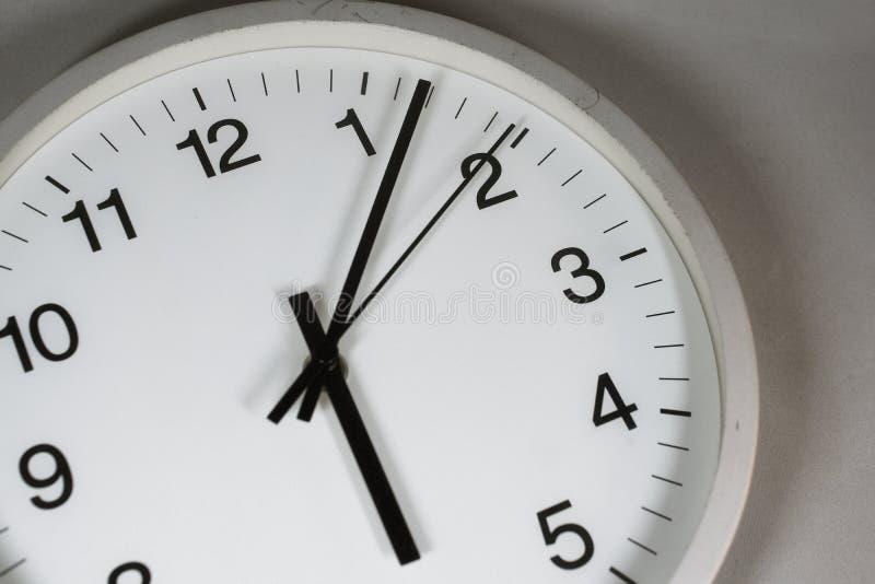 简单的时钟图象 免版税库存照片