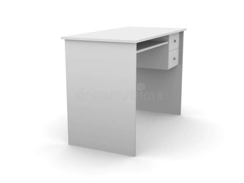 简单的桌面 向量例证