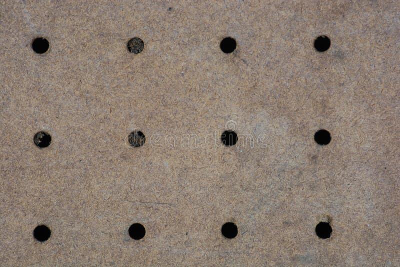 简单的老普通的无缝的corkboard背景老布朗 免版税图库摄影