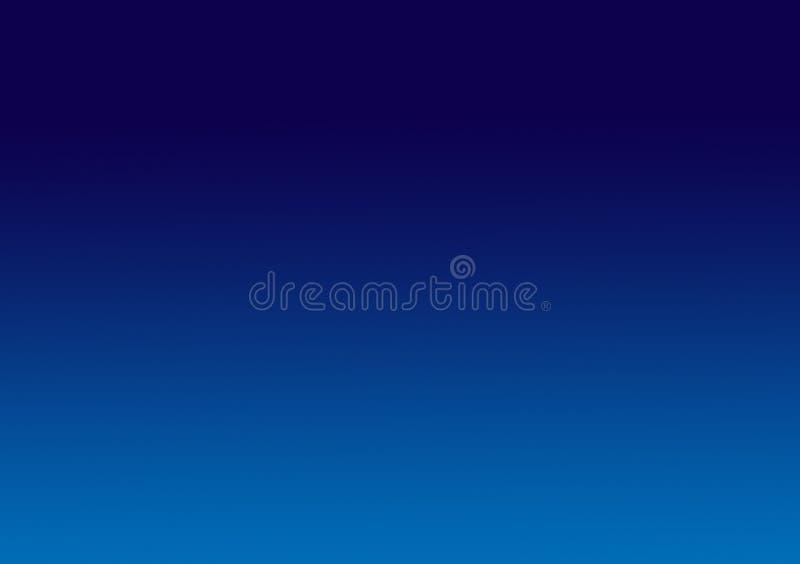 简单的蓝色梯度背景墙纸 库存例证
