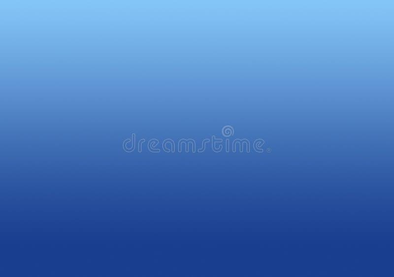 简单的蓝色背景梯度天空 向量例证