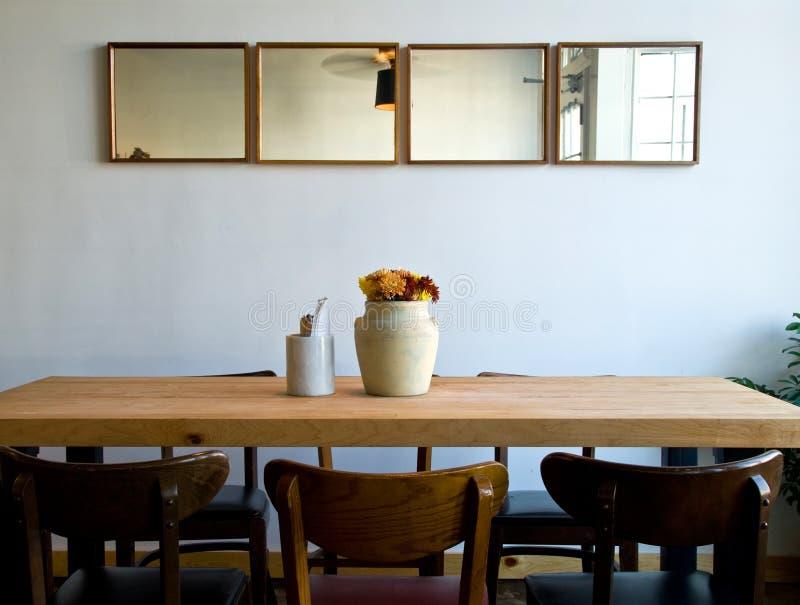 简单的餐馆 库存图片