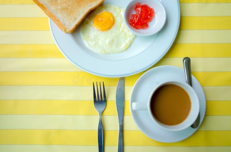简单的饭食 免版税库存照片