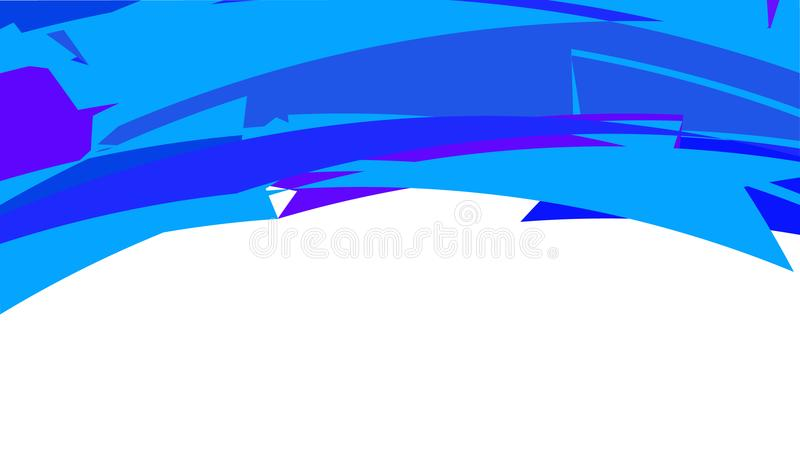 简单的minimalistic蓝色桃红色摘要不同的美好的明亮的三角背景、纹理和在的几何形状为 皇族释放例证