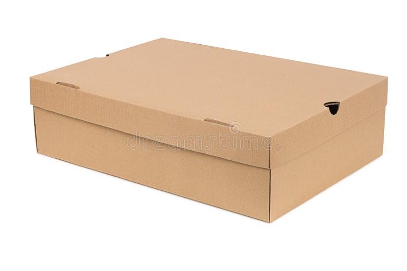 简单配件箱的鞋子 免版税图库摄影