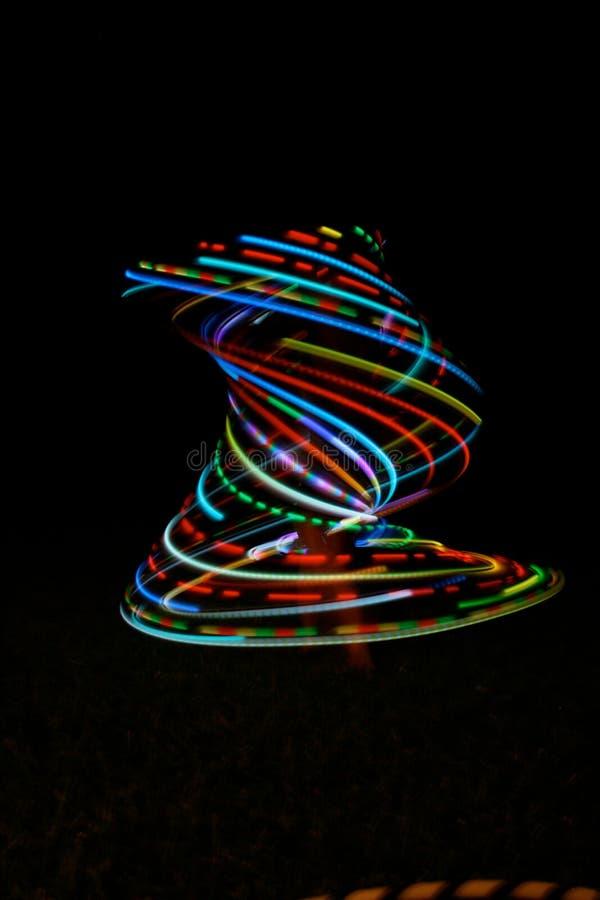 箍hula导致龙卷风 库存照片