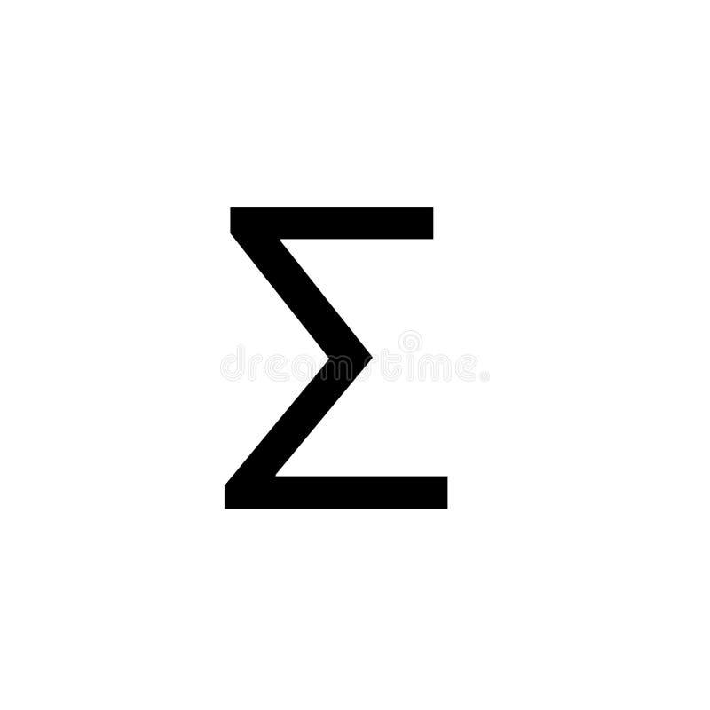 算术标志vectorÂ和算术象 库存例证