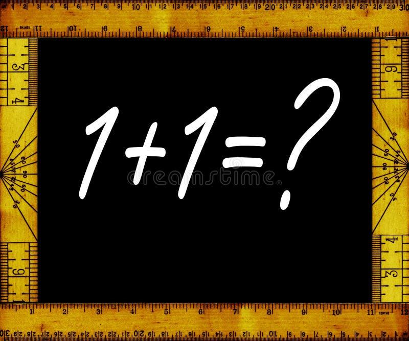 算术 库存例证