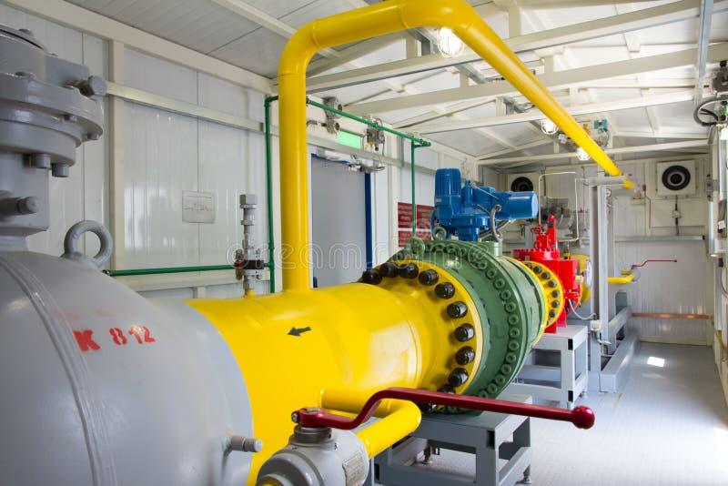 管子能源厂 免版税库存图片